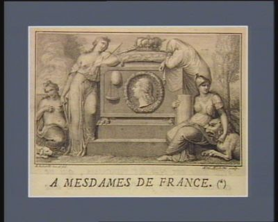 [Tombeau de Louis seize entouré de figures allégoriques] [estampe]