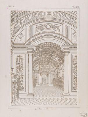 Palazzo Vaticano. Biblioteca, vestibolo