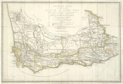 Cape of Good Hope Maps of Africa An Online Exhibit Spotlight