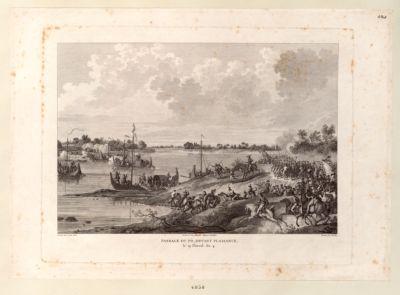Passage du Pô, devant Plaisance, le 19 Floréal An 4 [estampe]