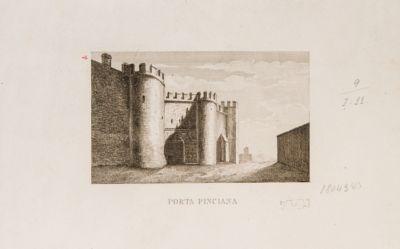 Porta Pinciana veduta dall'esterno
