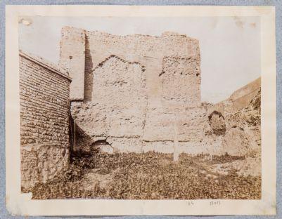 Mura Aureliane, tratto fortificato e sopraelevato