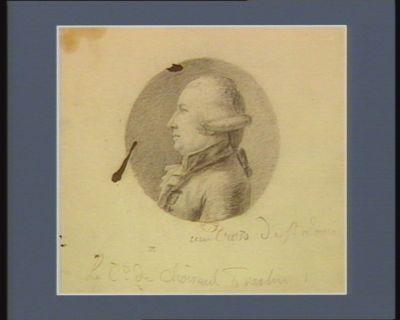 Le  Comte de Choiseul-Praslin [dessin]