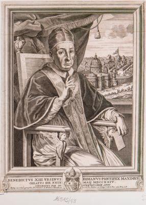 Benedictus XIII Ursinus Romanus Pontifex Maximus