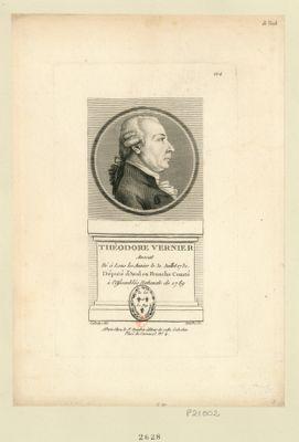 Théodore Vernier avocat né à Lons les Aunier le 31 juillet 1731 député d'Aval en Franche Comté à l'Assemblée nationale de 1789 : [estampe]