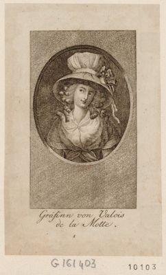 Gräfinn von Valois de la Motte [estampe]
