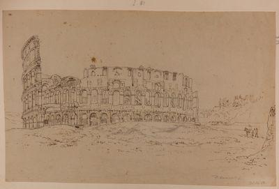 Colosseo visto da sud-ovest