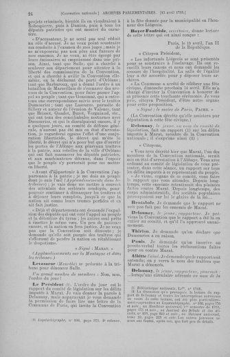 Tome 62 : Du 13 au 19 avril 1793 - page 24