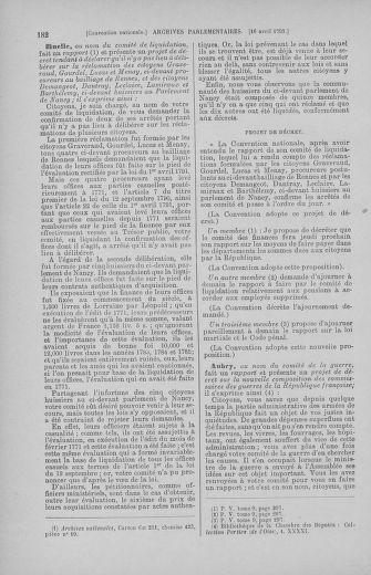 Tome 62 : Du 13 au 19 avril 1793 - page 182