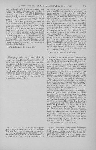 Tome 62 : Du 13 au 19 avril 1793 - page 205