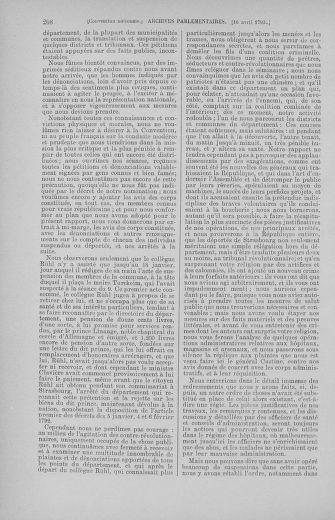 Tome 62 : Du 13 au 19 avril 1793 - page 208