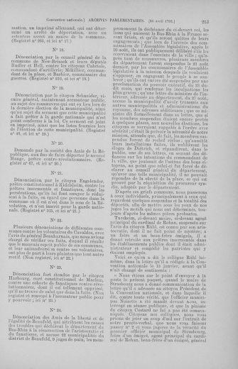 Tome 62 : Du 13 au 19 avril 1793 - page 213