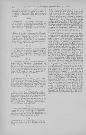 Tome 62 : Du 13 au 19 avril 1793 - page 214