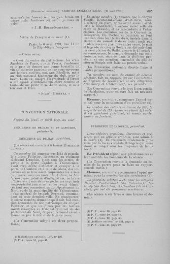 Tome 62 : Du 13 au 19 avril 1793 - page 685