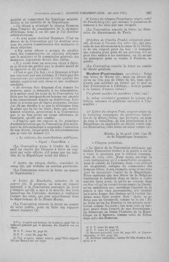 Tome 62 : Du 13 au 19 avril 1793 - page 687