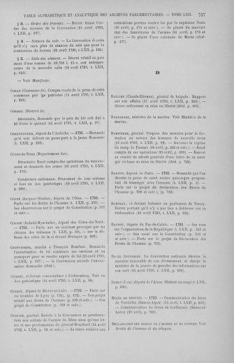 Tome 62 : Du 13 au 19 avril 1793 - page 757