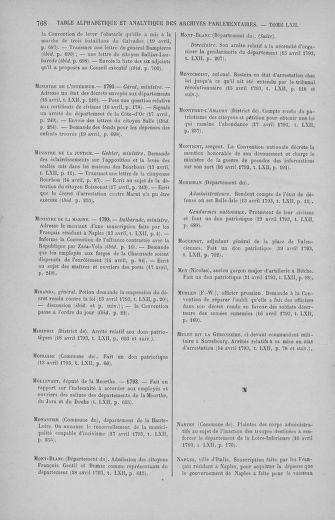 Tome 62 : Du 13 au 19 avril 1793 - page 768