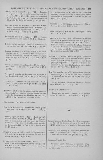 Tome 62 : Du 13 au 19 avril 1793 - page 771