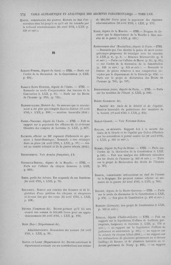Tome 62 : Du 13 au 19 avril 1793 - page 772