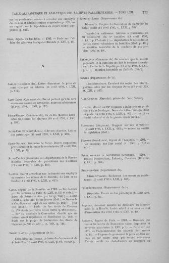 Tome 62 : Du 13 au 19 avril 1793 - page 773