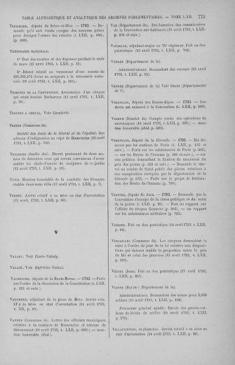 Tome 62 : Du 13 au 19 avril 1793 - page 775