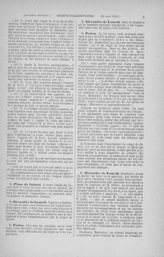 Tome 30 : Du 28 août au 17 septembre 1791 - page 5
