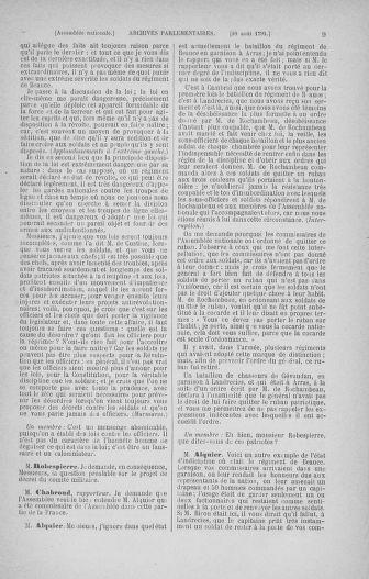 Tome 30 : Du 28 août au 17 septembre 1791 - page 9