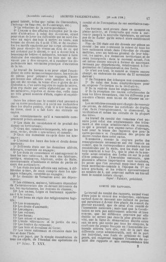 Tome 30 : Du 28 août au 17 septembre 1791 - page 17