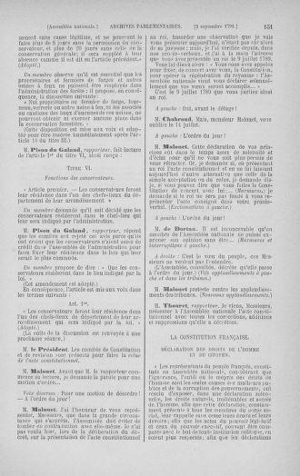 Tome 30 : Du 28 août au 17 septembre 1791 - page 151