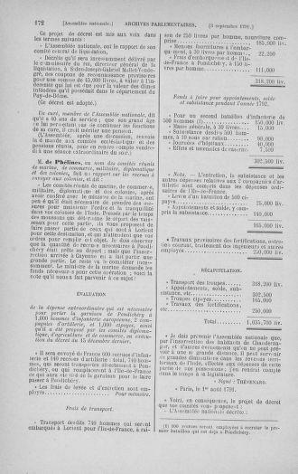 Tome 30 : Du 28 août au 17 septembre 1791 - page 172