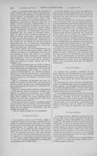 Tome 30 : Du 28 août au 17 septembre 1791 - page 208