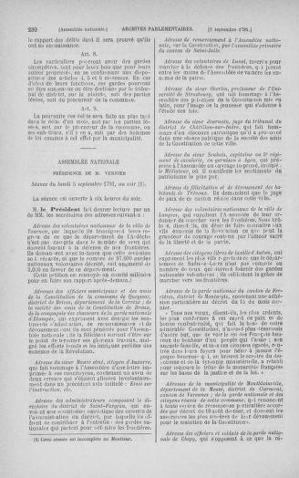 Tome 30 : Du 28 août au 17 septembre 1791 - page 230