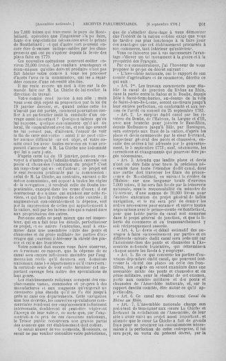 Tome 30 : Du 28 août au 17 septembre 1791 - page 261
