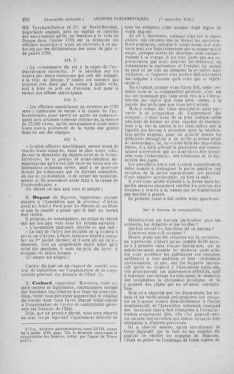 Tome 30 : Du 28 août au 17 septembre 1791 - page 276