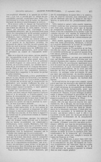 Tome 30 : Du 28 août au 17 septembre 1791 - page 277