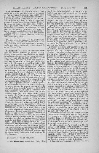 Tome 30 : Du 28 août au 17 septembre 1791 - page 397