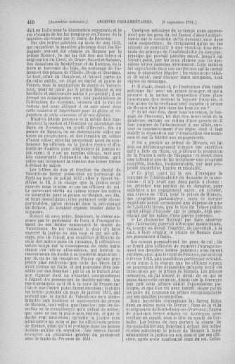 Tome 30 : Du 28 août au 17 septembre 1791 - page 410