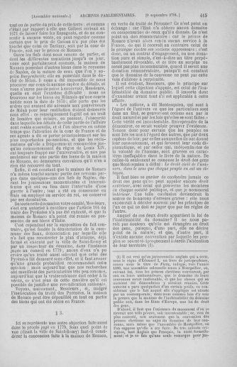 Tome 30 : Du 28 août au 17 septembre 1791 - page 415