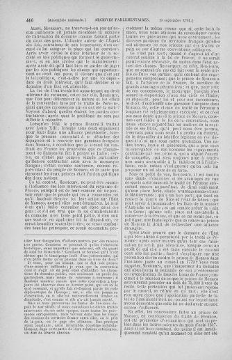 Tome 30 : Du 28 août au 17 septembre 1791 - page 416
