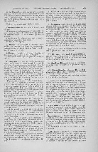 Tome 30 : Du 28 août au 17 septembre 1791 - page 437