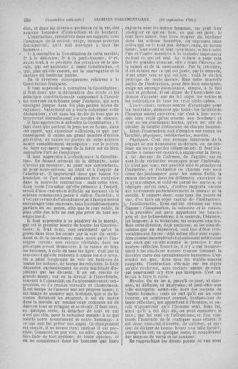 Tome 30 : Du 28 août au 17 septembre 1791 - page 450