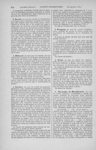 Tome 30 : Du 28 août au 17 septembre 1791 - page 564