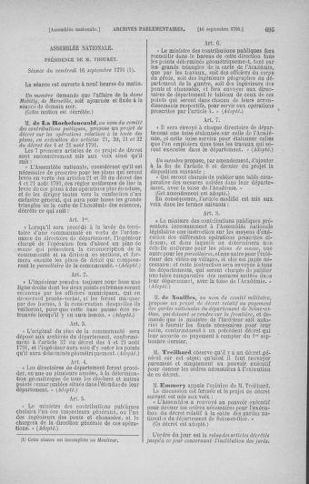 Tome 30 : Du 28 août au 17 septembre 1791 - page 695