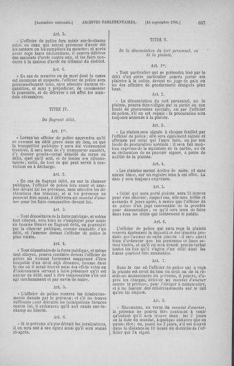 Tome 30 : Du 28 août au 17 septembre 1791 - page 697