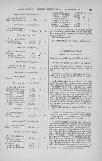 Tome 30 : Du 28 août au 17 septembre 1791 - page 715