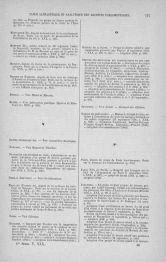 Tome 30 : Du 28 août au 17 septembre 1791 - page 777