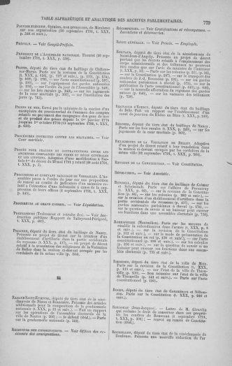 Tome 30 : Du 28 août au 17 septembre 1791 - page 779