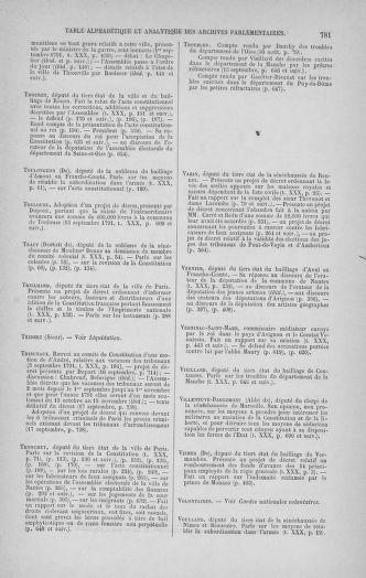 Tome 30 : Du 28 août au 17 septembre 1791 - page 781