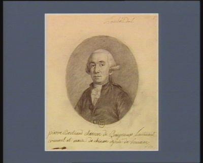 pierre Bertrand chesnon de Baigneux Lieutenant criminel et maire de chinon deputé de Touraine : [dessin]