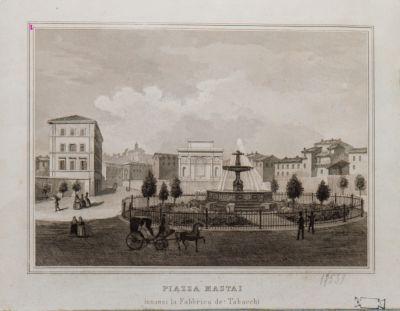 Piazza Mastai, fontana
